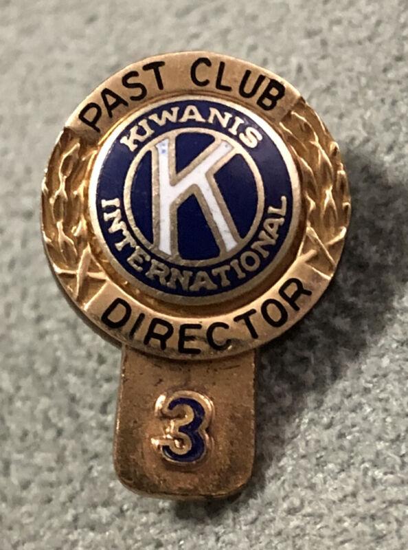 14K Yellow Gold Top Kiwanis International Past President Pin/Lapel Pin