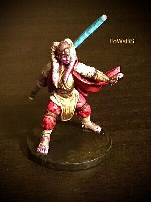 Star Wars Miniature Diala Passil - Imperial Assault 28mm painted by FoWaBS.