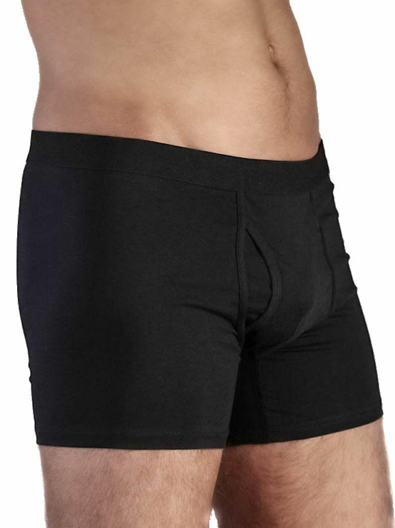 Albero Herren Boxershorts mit eingriff Bio-Baumwolle Unterhose Unterwäsche