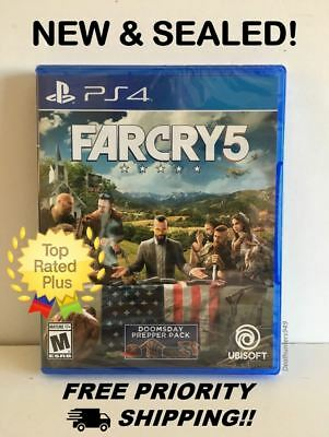 Far Cry Farcry 5 [Sony Playstation 4 PS4, 2018] Brand New, Free 2-Day Shipping!