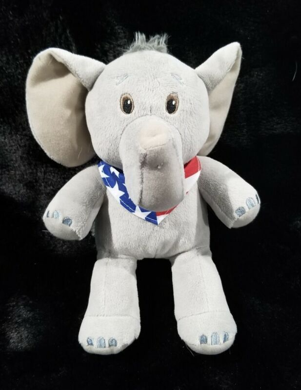 Elephant Plush RNC Cleveland 2016 AT&T Collectable Convention