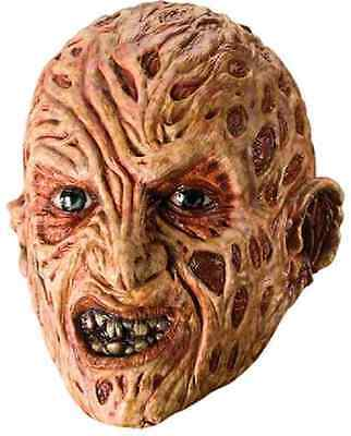 Freddy Krueger Mask A Nightmare on Elm Street Adult Halloween Costume Accessory