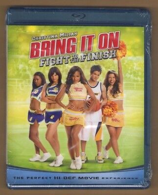 BRING IT ON - FIGHT TO THE FINISH new blu-ray CHRISTINA MILIAN VANESSA BORN