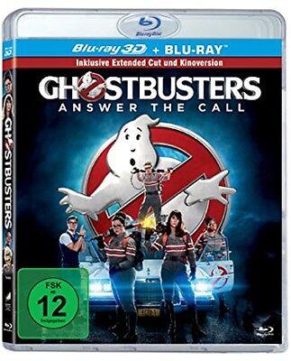 3D Blu-ray Ghostbusters - Extended Cut Blu-ray 3D+2D NEU (Teil 3,Kinofilm 2016)