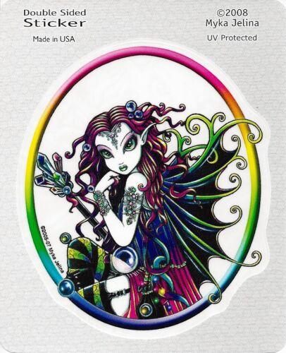 LUCIDIA FAERY Fairy Sticker Car Decal Myka Jelina goth gothic pagan faerie