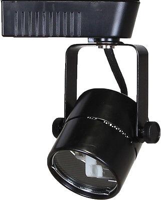 Voltage Track Lighting Fixture - Direct-Lighting 50010 Black MR16 Cylinder Low Voltage Track Lighting Fixture