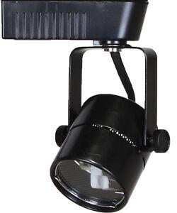 Low voltage track lighting ebay direct lighting 50010 black mr16 cylinder low voltage track lighting fixture aloadofball Gallery