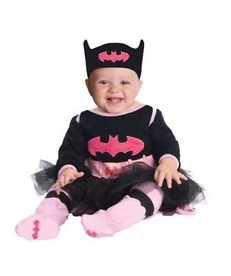 Baby Batgirl Halloween Costume (NEW RUBIE'S 5-Pc HALLOWEEN COSTUME: DC SUPER FRIENDS