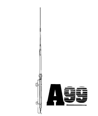 NEW SOLARCON ANTRON A-99 CB BASE STATION ANTENNA HOME 17' FIBERGLASS A99