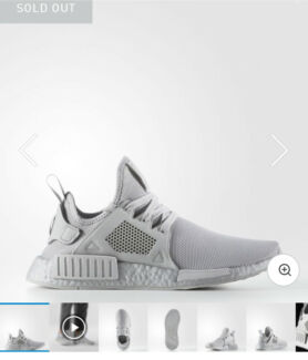 Adidas NMD XR1 Grey - BRAND NEW WITH BOX