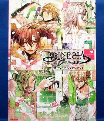 Amnesia Later Official Visual Fan Book /Japanese Anime Illustrations Book