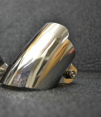 Chrome Auspuffblende 1 Rohranlage, Mercedes W123, W124, W201