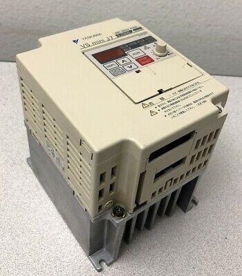 Yaskawa Cimr-j7aab0p7 Vs Mini J7 Inverter Ac Drive 200v Single Phase