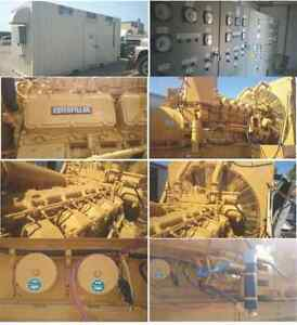 Complete Caterpillar Power Generator Station 3MW CAT Finning