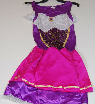 Petticoat Children's Halloween Costume Girls M 8 - 10 Pink Purple Gold Dress