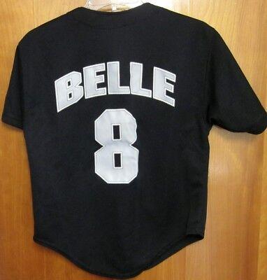 CHICAGO WHITE SOX small baseball jersey Albert Belle w/ snag #8 Starter 1997 ()