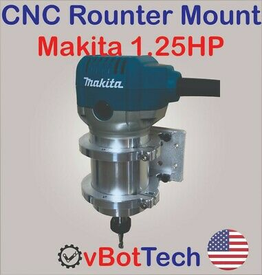 Cnc Routerspindle Mount Clamp Holder Kit For Makita Rt0701c 1.25hp - Diy