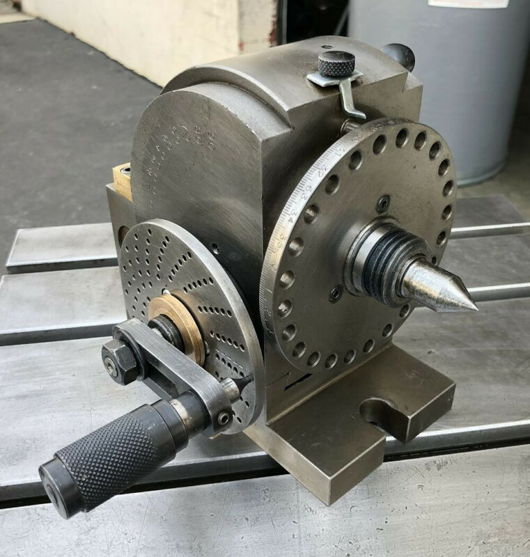 "PRECISION 5"" UNIVERSAL INDEXING DIVIDING HEAD"
