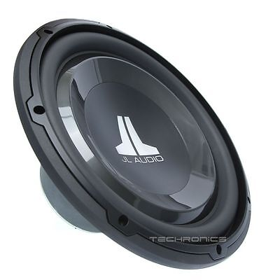 "NEW JL AUDIO 12W1V3-4 12"" SINGLE 4 OHM 600W CAR AUDIO SUBWOOFER SUB WOOFER W1V3"