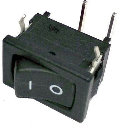 Ck Rocker Switch Spst 10a 125v Panel Mount Snap-in Right Angle D502j12s2ahqf