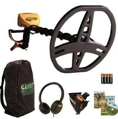 NEW Garrett EuroAce Metal detector + Headphones,Backpack,Box Cover,FREE Delivery