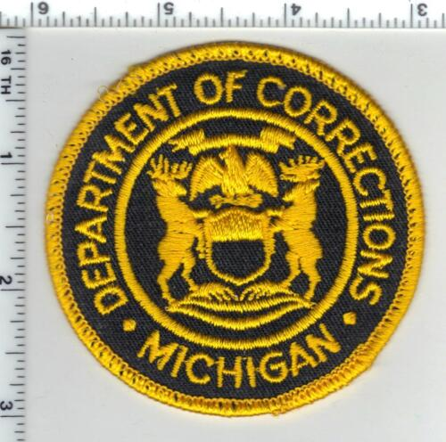 Department of Corrections (Michigan) Uniform Take-Off Shoulder Patch 1980