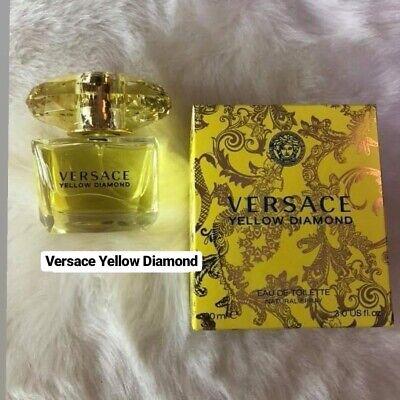 Versace Yellow Diamond for Women 3.0 oz Eau de Toilette Spray perfume