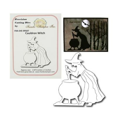 Halloween Cauldron Witch Metal Die Cut Frantic Stampers Cutting Dies ](Cauldron Witch)