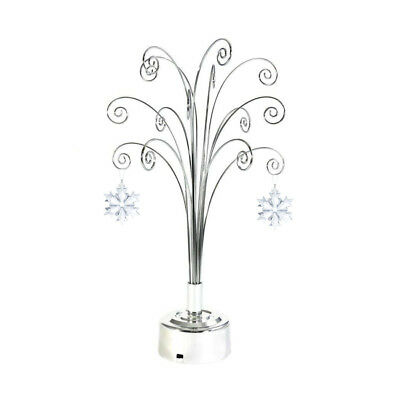 For 2018 Swarovski ANNUAL LARGE CHRISTMAS ORNAMENT CRYSTAL Snowflake Star Stand