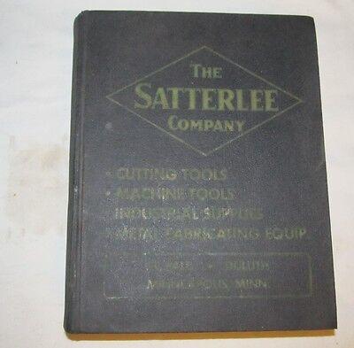 Vintage SATTERLEE St Paul/Duluth Minnesota Tool Catalog J708