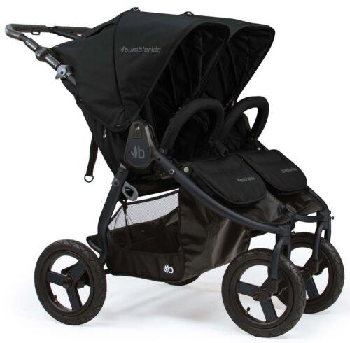 Bumbleride Indie Twin All Terrain Twin Baby Double Stroller Matte Black NEW 2018