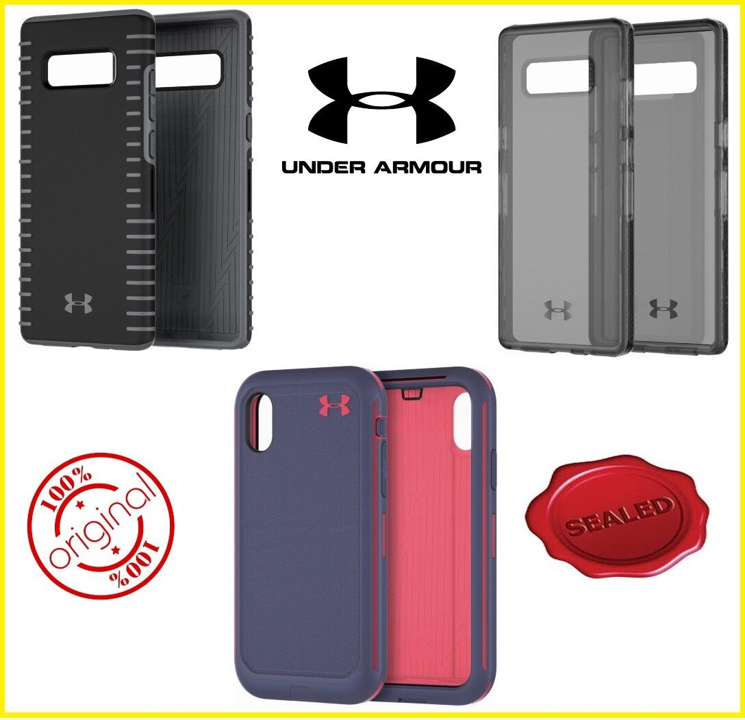 Apple iPhone X, XS & Samsung Galaxy Note 8 Under Armour Auth