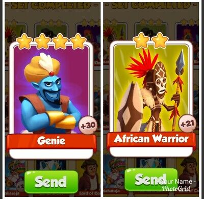 Where should I buy a Coin Master Card Bundle Genie & African