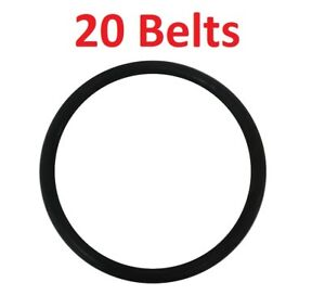Eureka / Sanitaire Upright Round Vacuum Belts 20 Pack