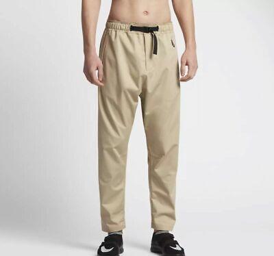 Mens Nike NikeLab Essential Utility Pants 874296-213 Mushroom/Black NEW Size XL