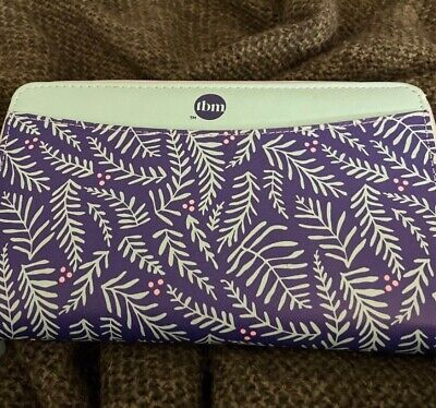 Limited Edition The Budget Mom Filofax Saffiano Compact Zip Wallet