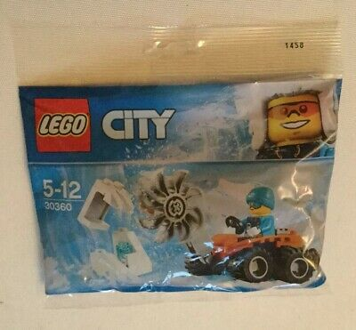 LEGO CITY : Arctic Ice Saw Polybag Set 30360 BNSIP