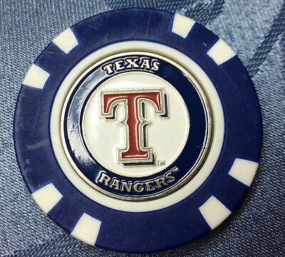 MLB Texas Rangers Poker Chip Ball Marker