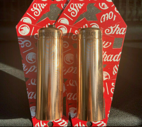 """2 x SHADOW CONSPIRACY PEGS 4.3"""" FITS ALL BMX BIKES HARO SE CULT SUBROSA COPPER"""