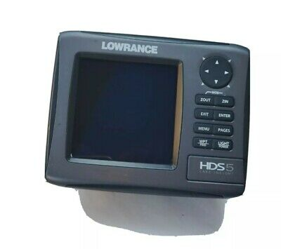 Lowrance HDS 5 Gen 2 Fishfinder Lake Insight Sonar GPS Head Unit Replacement