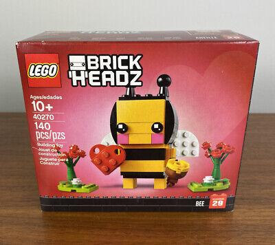 LEGO 40270 - Brickheadz Valentines Day Bumble Bee - Brand New and Sealed