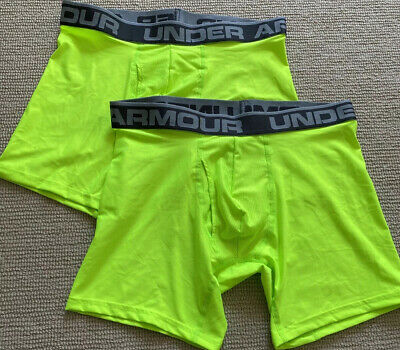 Under Armour Original Series Mens Medium Boxerjock Boxer Briefs 2 Pack 9""