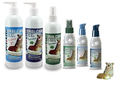 Petzlife Gel Spray For Dogs Teeth All Sizes & Flavors 4 O...