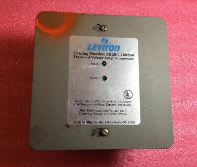 Leviton Transient Voltage Surge Suppressor 51120-1 120240