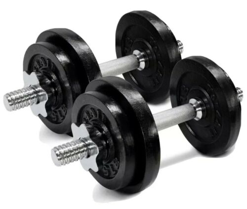 Yes4All Adjustable Dumbbells - 60 Lb Dumbbell Weights Pair  - $99.99