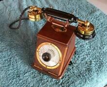 Vintage TMC wooden desk intercom phone – Sell $450 neg Padstow Bankstown Area Preview