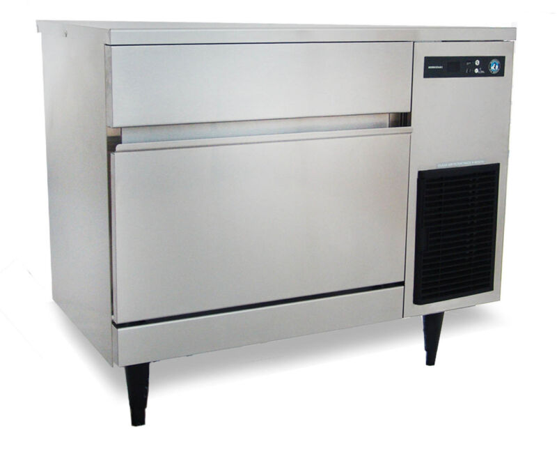 New 200 Lb Ice Maker Machine & Storage Bin Hoshizaki Im-200bab #5648 Nsf Cube