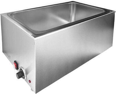 Zica Commercial Electrical Bain Marie Buffet Food Warmer Steam Table 1200w