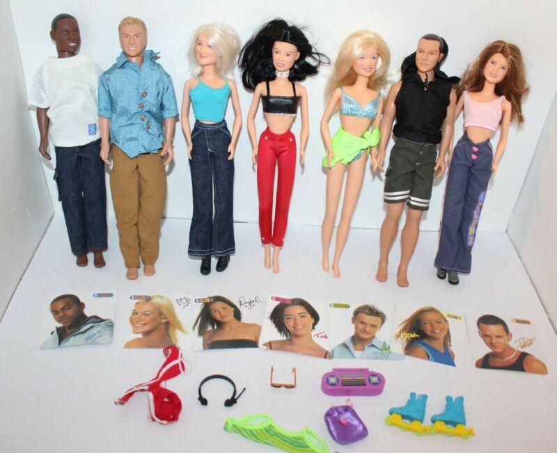 S Club 7 Dolls Set Hasbro 2000 Pop Music Band