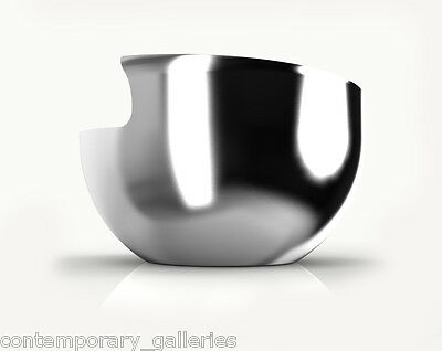 Contemporary Stainless Steel Air Collection Xtra Large Bowl by Lisa Smith